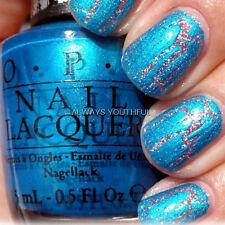 OPI NAIL POLISH Turquoise Shatter Top Coat E64