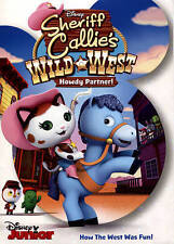 Disney Jr Sheriff Callies Wild West DVD Howdy Partner!! How The West Was Fun New