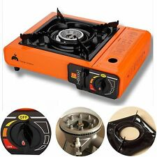 Portable Butane Stove Outdoor Picnic Camping Gas Burner Cooktop Range