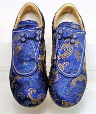 ASICS ONITSUKA TIGER Kyoto Tai Chi Tigress Nishijin Blue Brocade Sz 7 very rare