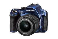 Pentax K-30 Weather-Sealed 16 MP CMOS Digital SLR with 18-55mm Lens Blue 15758