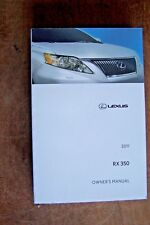 2011 lexus rx owners manual new original book  rx350  rx 350