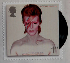 DAVID BOWIE: SET of 6 ROYAL MAIL postage stamps - MINT