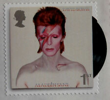 DAVID BOWIE: SET of 6 ROYAL MAIL stamps - MINT NEVER HINGED - MNH