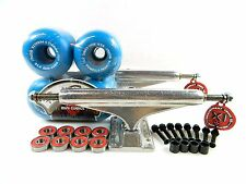 Independent 169 Skateboard Trucks + Powell Peralta 64mm Mini Cubic Blue Wheels
