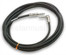"""Fishman 15 foot Premium 2-Pair Shielded Stereo Guitar Cable, 1/4"""" M to 1/4"""" M Rt"""