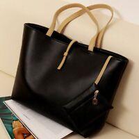 New Women PU Leather Handbag Shoulder Bags Tote Messenger Hobo Bag Satchel Purse
