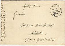 *Feldpost II. WK - 1942 * nach Lübeck (23)