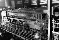 OLD TRAIN PHOTO Britannia Class 462 Locomotive John Milton On The Test Rig