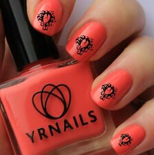 Nail WRAPS Nail Art Water Transfers Decals - Medusa - S372