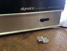 DYNACO Model 150 Amplifier front PANEL  LED lamps.