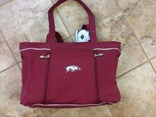Arkansas Razorbacks Maternity Travel Bag Running Hog Logo