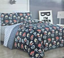 Kids Chase & Connor 5 Piece Twin Comforter and Sheet Set. New