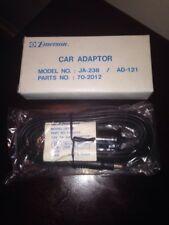 Emerson Car Adapter Model No Ja-238 Power Cord For Cb Radios Ad-121 Part 70-2012