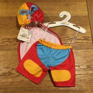 BUILD A BEAR FACTORY RARE & HTF LUCHADOR WRESTLER COSTUME USA EXCLUSIVE BNWT