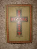 Vintage Great Revival Hymns No. 2 by Rodeheaver and Ackley early 1900's  Music