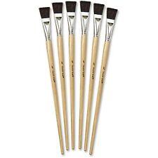 """Chenille Kraft Tempera Easel Brush Set 3/4"""" 6/ST Natural 5937"""