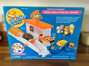 NEW ⭐️Zhu Zhu Pets⭐Hamsters ZhuZhu Pizza Shop