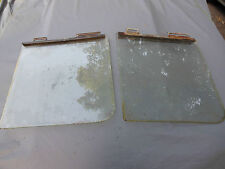 1953-54 Willys Aero Pair Front Right and Left Door Glass