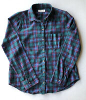 Men's Hollister Long Sleeve Plaid Flannel Shirt Pre-Owned Size M