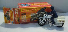 Matchbox - Superfast - MB 33 Police Motor Cyclist     -Made in England - in Box