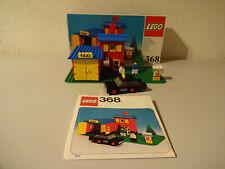 ( GO ) LEGO 368 Taxi Station MIT OVP & BA 100% KOMPLETT GEBRAUCHT SELTEN