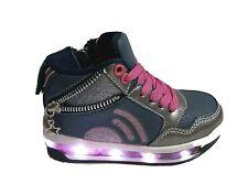 scarpe da bambina CON LUCI LUMINOSE sneakers sportive per bimba alte tikimo