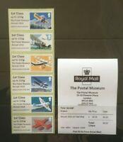 R19AL SEPT. 2019 POSTAL MUSEUM MAIL BY AIR AIRMAIL 1919 1st STRIP B9GB19 Post Go
