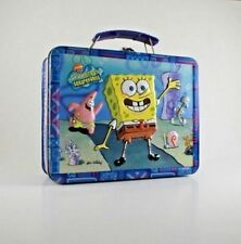 Spongebob SquarePants Mini Tin Lunch Box Patrick Squidward new