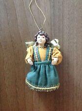 Natale-VINTAGE-ALBERO DI NATALE ANGELO tradizionale-Rare Vintage trovare