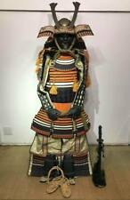 Japanese Samurai Musha Kabuto Helmet Maedate Menpo Yoroi Armor Kacchu Gusoku #4