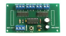 SIG-DEC DCC, digitaler Signaldecoder für Lichtsignale, NRMA DCC digital, IEK