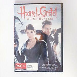 Hansel & Gretel Witch Hunters Movie DVD Region 4 AUS Free Postage - Action