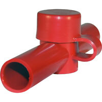Blue Sea Systems 4003 Cable Cap Dual Entry Red