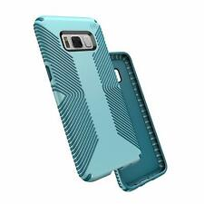 Speck Products Presidio Grip Cell Phone Case Samsung Galaxy S8 - Robin Egg Blue