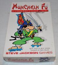 MUNCHKIN FU Card Game Steve Jackson Games #1412 complete