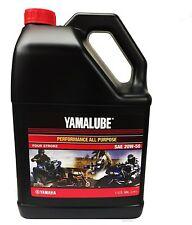 Yamalube 20W-50 All Purpose Performance Engine Motor Oil OEM Yamaha 1 Gallon