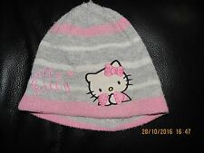 bonnet gris (taille 52) HELLO KITTY