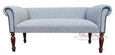 Bespoke Quirky Retro Grey 60's Rainbow Pattern Traditional Sofa