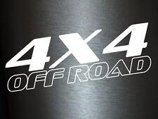 1 x 2 Plott Aufkleber 4x4 Offroad Kursiv Blank Allrad Quattro Off Road Sticker