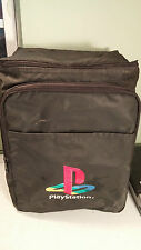 RARE PLAYSTATION DRINK COOLER TRAVEL GAMER BAG PS1 BE THE ENVY OF YOUR FRIENDS!