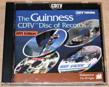 The Guinness CDTV Disc of Records Commodore Amiga CDTV