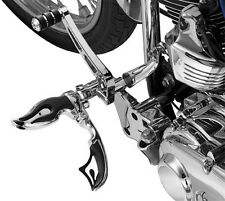 Harley-Davidson CVO FXR2 1999Flamin' Switchblade Footpegs Male Mount by Kuryakyn
