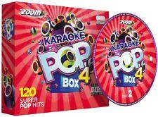 Zoom Karaoke-Pop Box 4 Party Pack - 120 Songs (6-Cd + G Box Set) [Cd] New