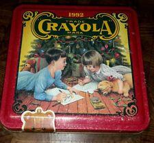 1992 Crayola Collectible Holiday Tin NEW SEALED