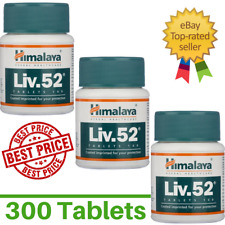 3x HimalayaLiv52 Digestion Detoxifier Herbal Live Care | 300 Tablets