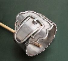 Antiker 835er Biedermeier-SILBERARMREIF breit Gürtelschnalle • 74 g buckle belt