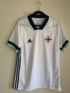 adidas 2020-2021 Northern Ireland Away Shirt Soccer Jersey Men's Size Large