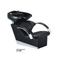 Poltrona poltrone lavatesta parrucchiere 961 ecopelle nera uso professionale