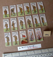 "17 Vintage Gibson Wargame Spare Parts ""L'Attaque"" 1940s/50s Period. (386)"
